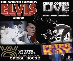 Elvis Tribute - Mr Chris Connor.