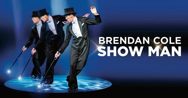 Brendan Cole Show Man.