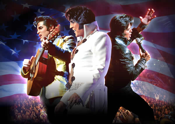 Elvis Tribute Artist World Tour.