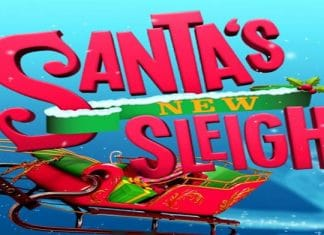 Santa's New Sleigh.