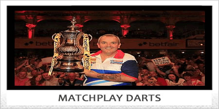 WORLD MATCHPLAY DARTS CHAMPIONSHIP.