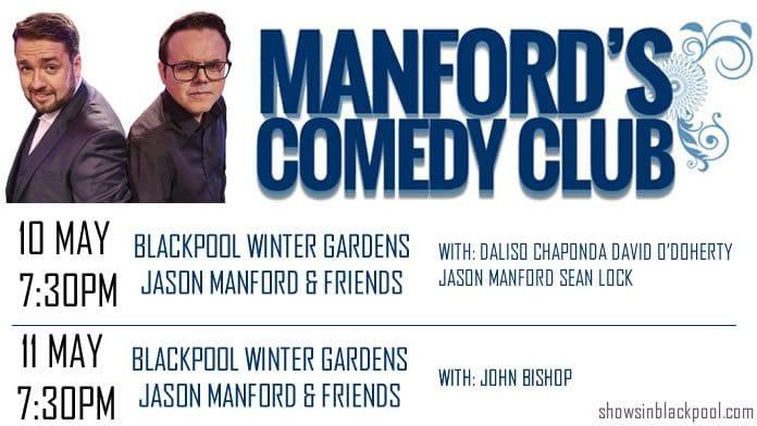 Manfords Comedy Club Festival.