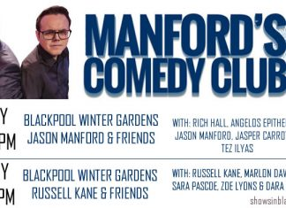 Manfords Comedy Club Festival with Russell Kane.
