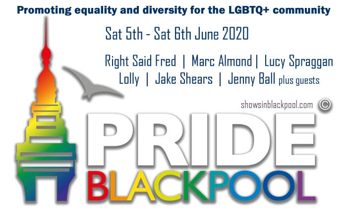 Blackpool Pride June 2020.
